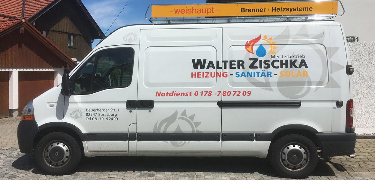 Heizung, Sanitär, Solar Notdienst Walter Zischka 0178 – 780 720 9